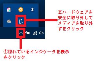 USB取り外す1